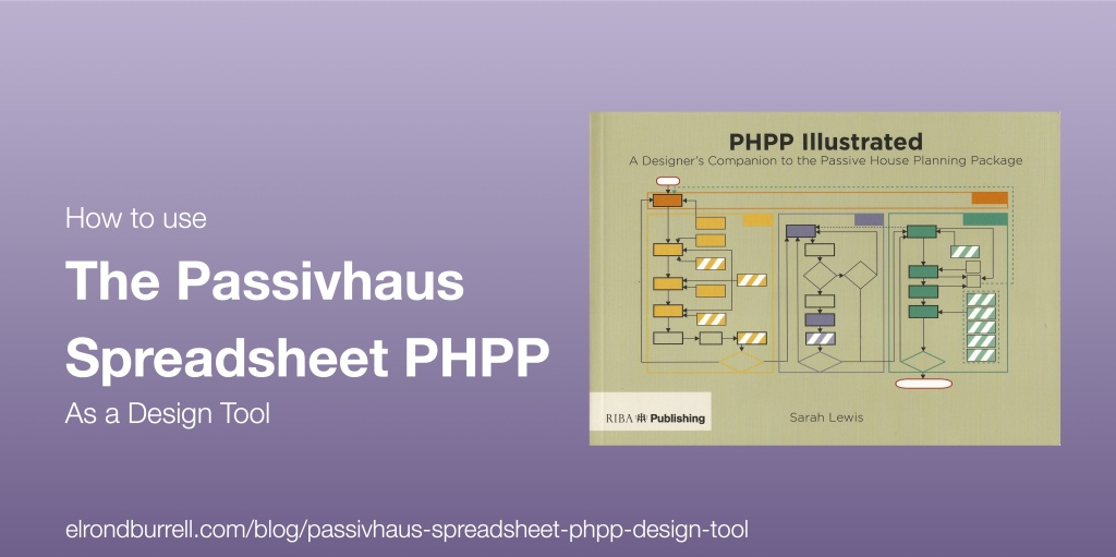 How to use the Passivhaus Spreadsheet PHPP as a Design Tool