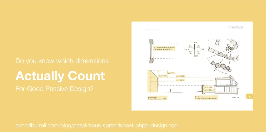 015 Passivhaus Spreadsheet PHPP Design Tool Shade Dimensions