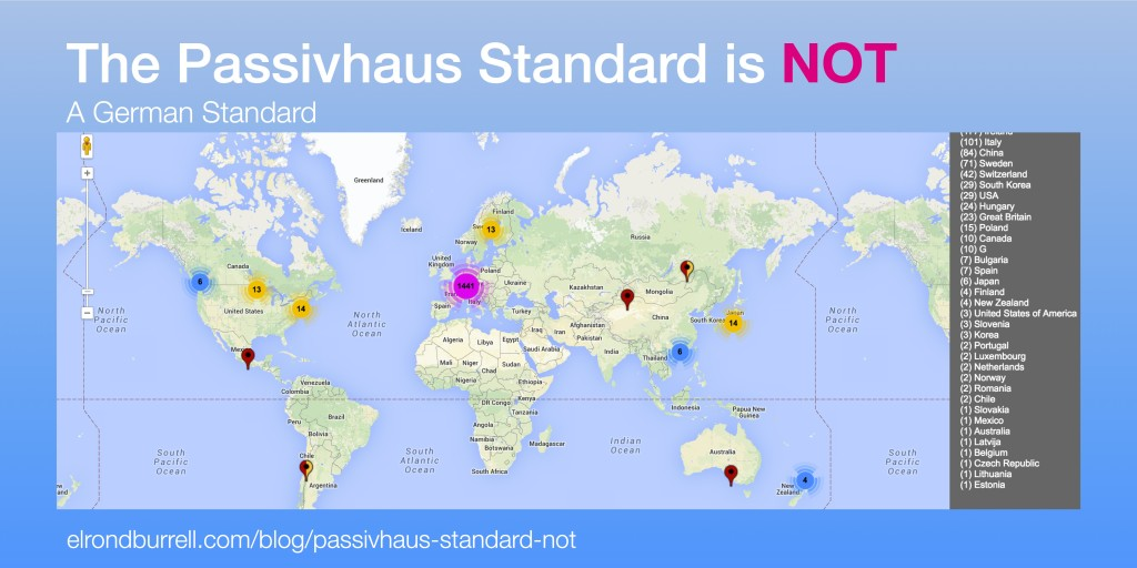 016 What the Passivhaus Standard is Not - map
