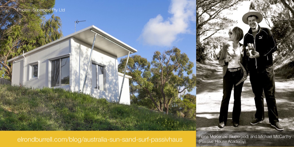 australia: sun sand surf and passivhaus (Superpod)