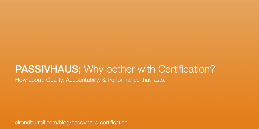 001 Passivhaus-Certification