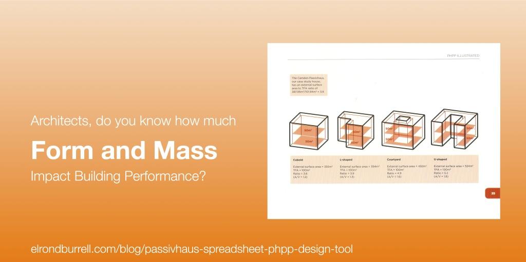 015 Passivhaus Spreadsheet PHPP Design Tool Form Factor