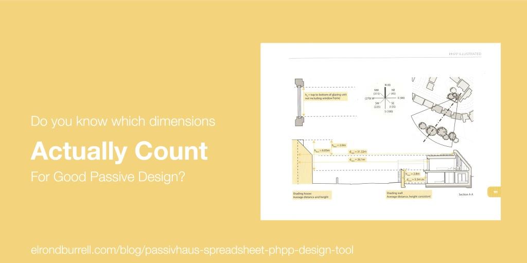 015 Passivhaus Spreadsheet PHPP Design Tool Shade Dimensions