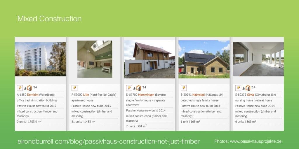 041 Passivhaus Construction Not Just Timber - Mixed