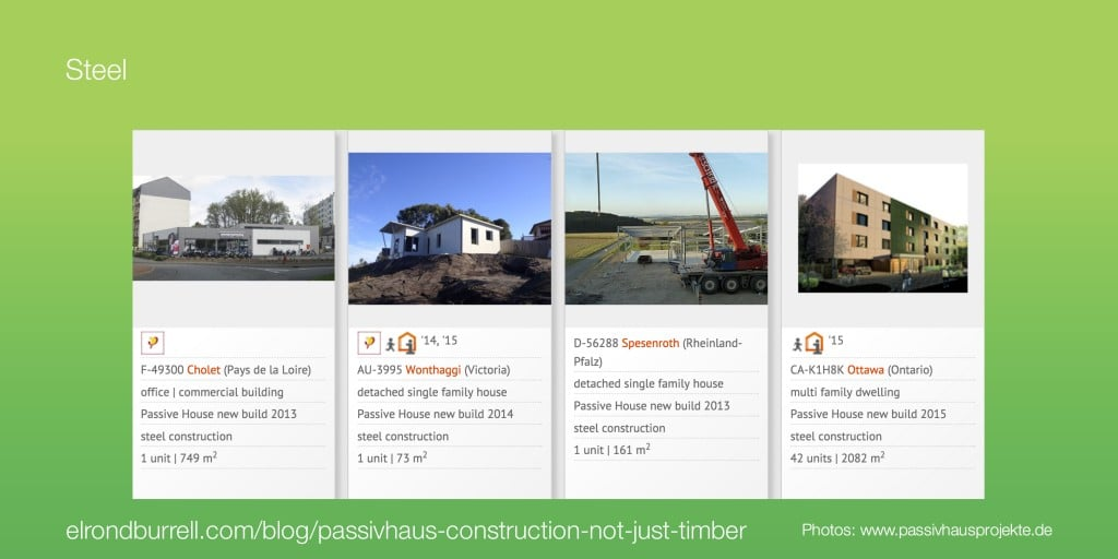 041 Passivhaus Construction Not Just Timber - Steel