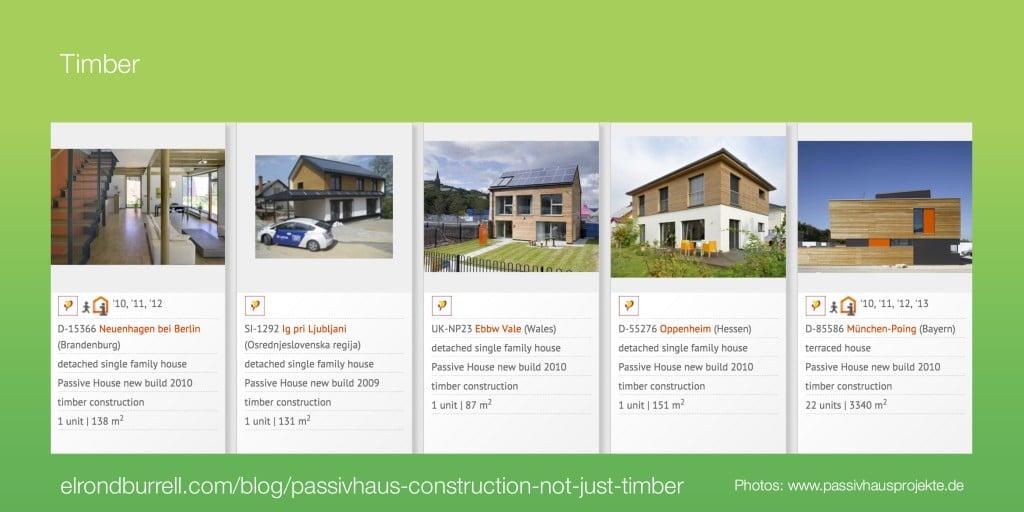 041 Passivhaus Construction Not Just Timber - Timber
