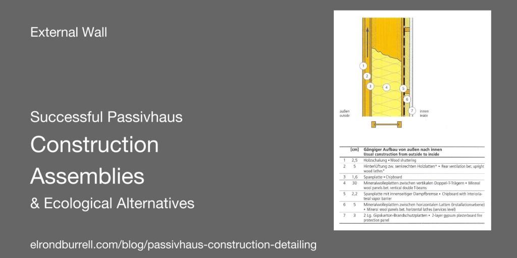 Successful Passivhaus Construction Details EW