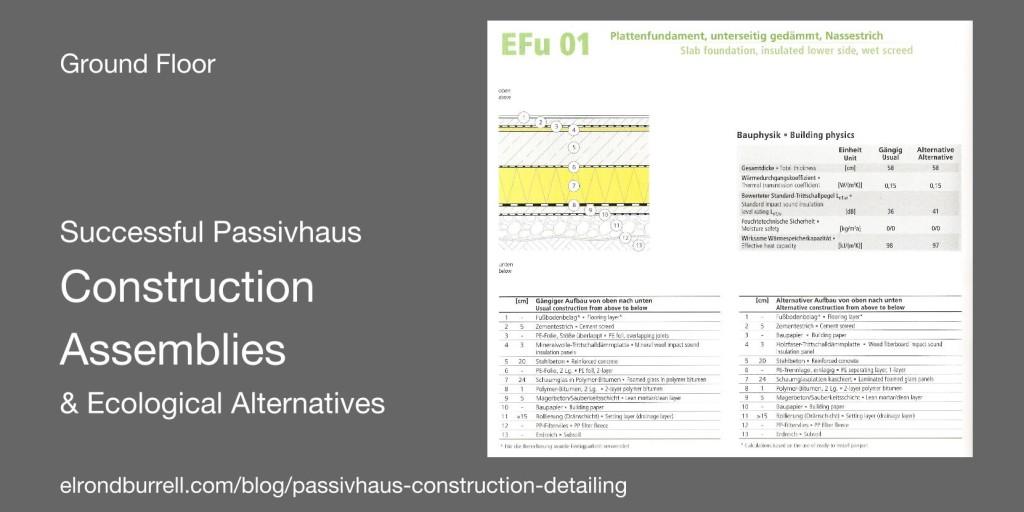 Successful Passivhaus Construction Details GF